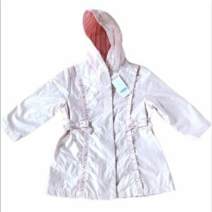 Gymboree Love is in the Air girl's rain jacket